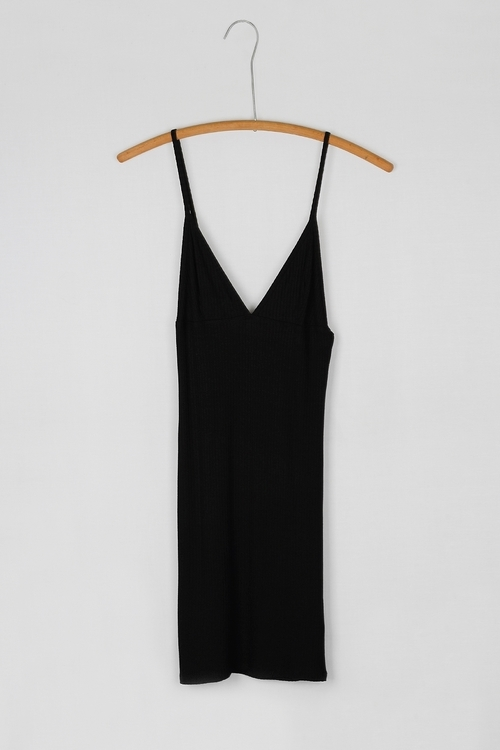 Ribbed Tank Undergarmet Dress
