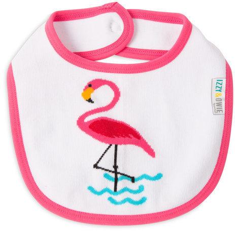 Pink Flamingo Baby Bib