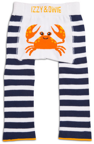 Nautical Crab Leggings