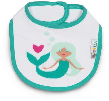 Seafoam Mermaid Baby Bib