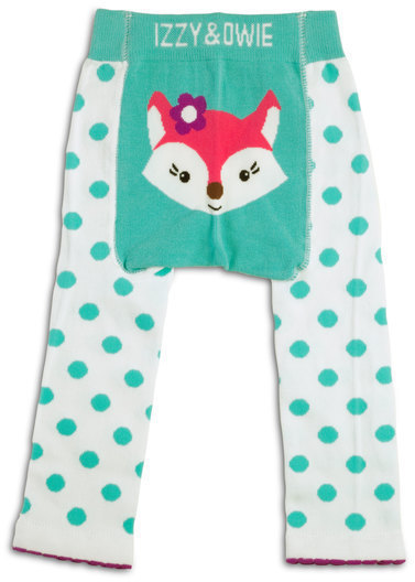 Aqua White Fox Leggings