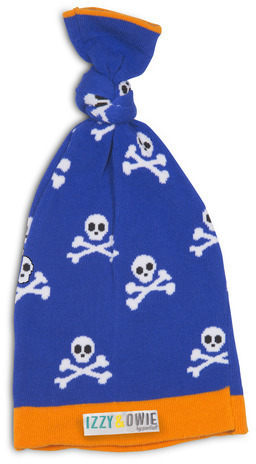 Blue Pirate Baby Hat