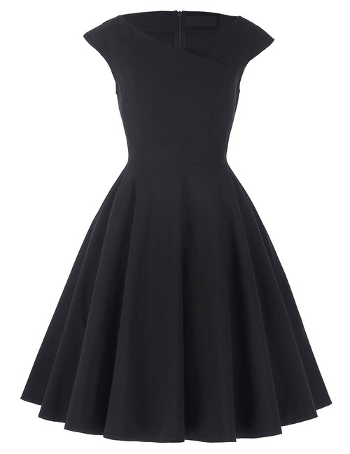 Joan dress in Black