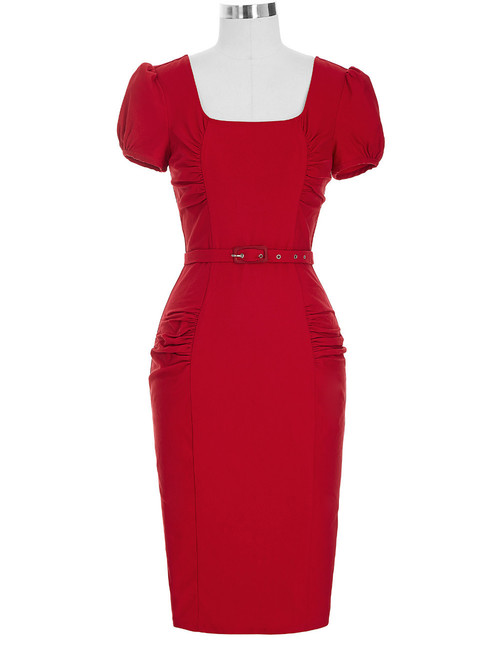 Olivia dress in Red