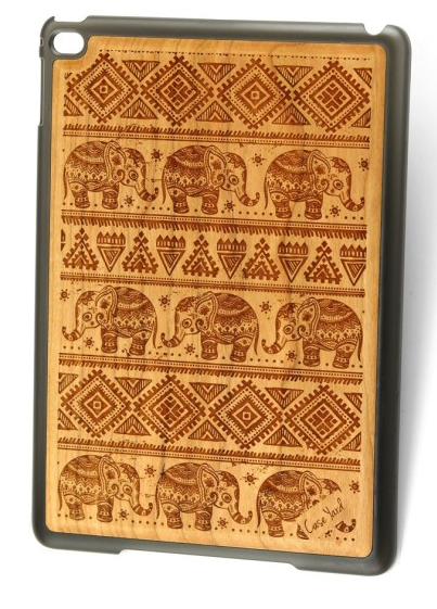 Elephant Wood iPad Air Cover
