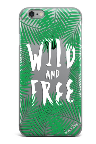 Wild & Free Palm iPhone Case