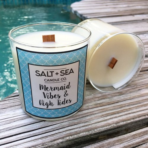 Mermaid Vibes & High TIde Candle