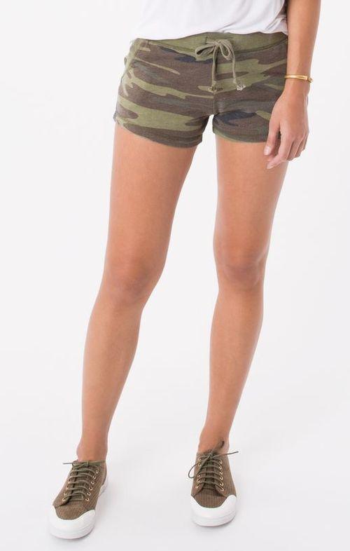 Camo Green Short