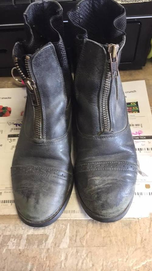 Consignment Zip Paddock Boots