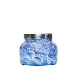 Lilac Watercolor Volcano Jar Candle- 8oz