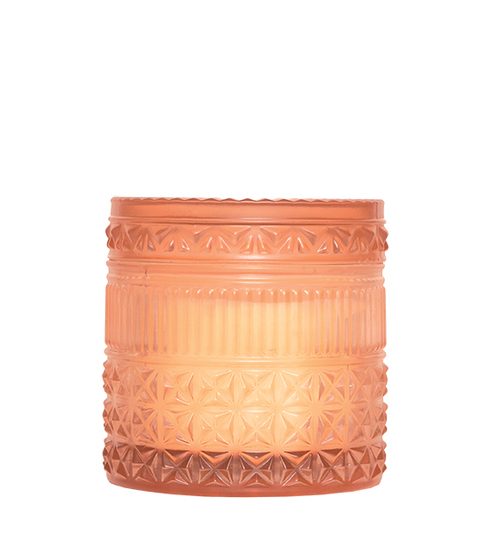 Muse Rust Faceted Pomegranate Citrus Candle- 11oz
