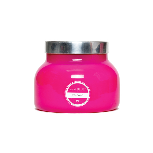 Volcano Pink Signature Jar Candle- 19oz