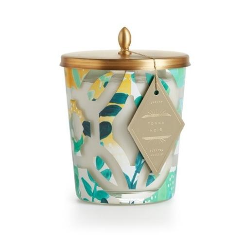 Tonka Noir Cameo Jar Candle