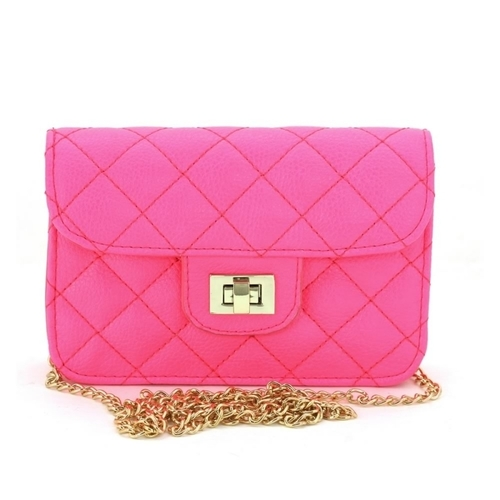 Mini Quilted Crossbody
