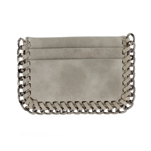 Edgy Chain Mini Credit Card Holder