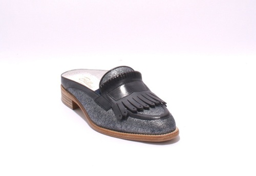 Jeans / Leather Fringe Sandals Shoes Mules