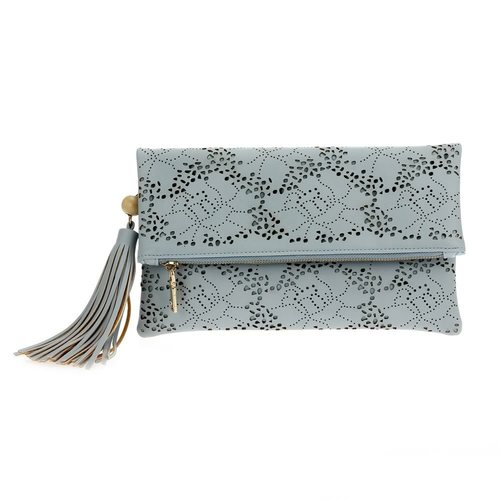 Floral Laser Cut Envelope Clutch