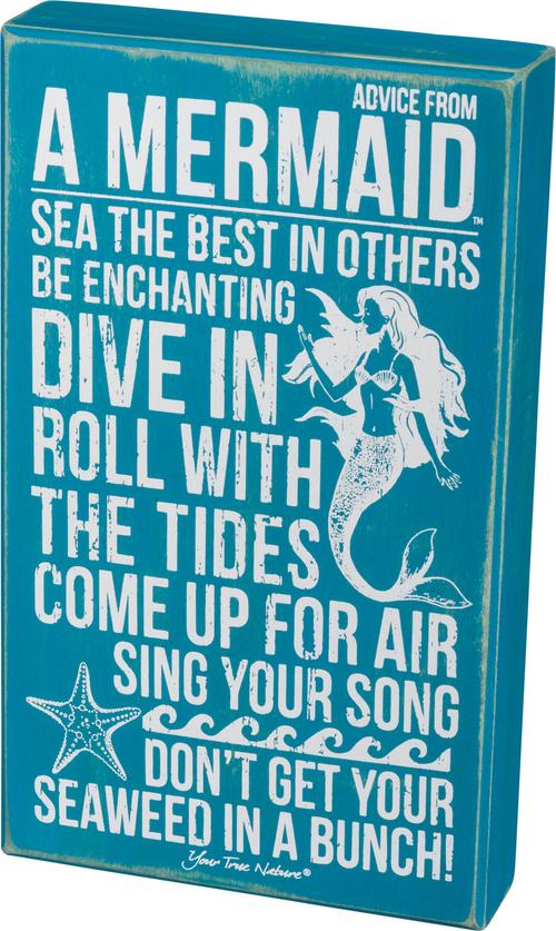 Advice Mermaid Sign