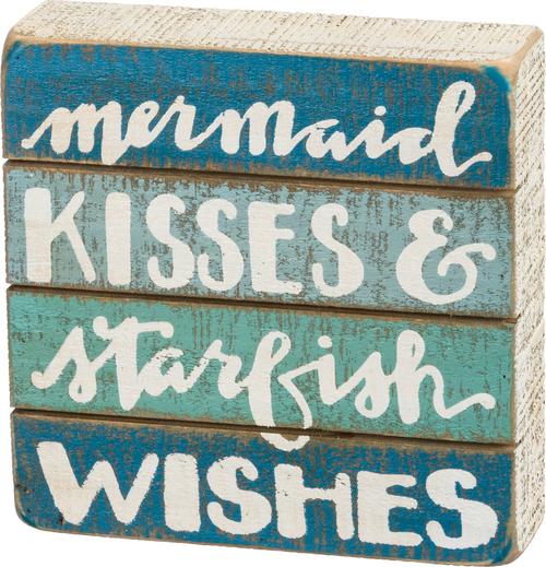 Starfish Wish Slat Sign