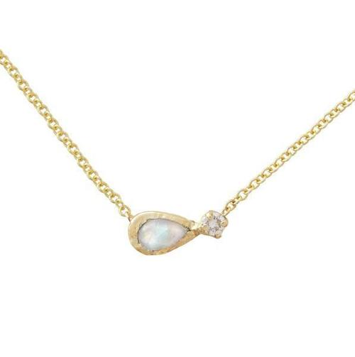 Guiding Light Moonstone Necklace