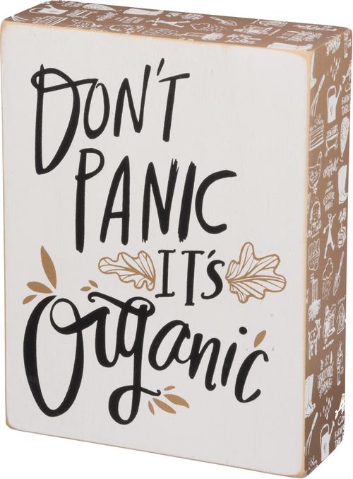 It's Organic Sign