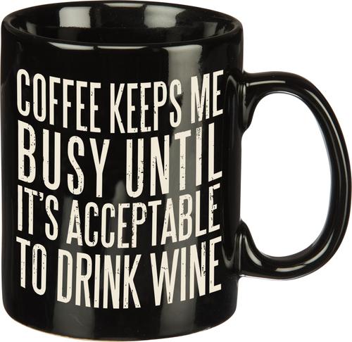 Coffee Keeps Mug