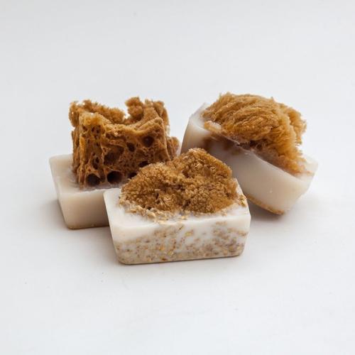 Almond Sponge Soap