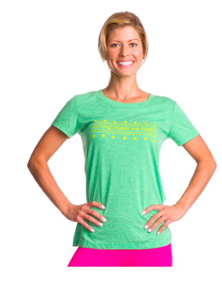 Running Makes Me Happy Tee