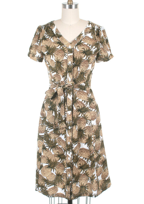 Pineapple dress *Online Exclusive*