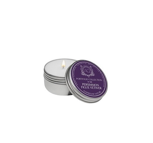 Persimmon Figue Vetiver tin soy candle