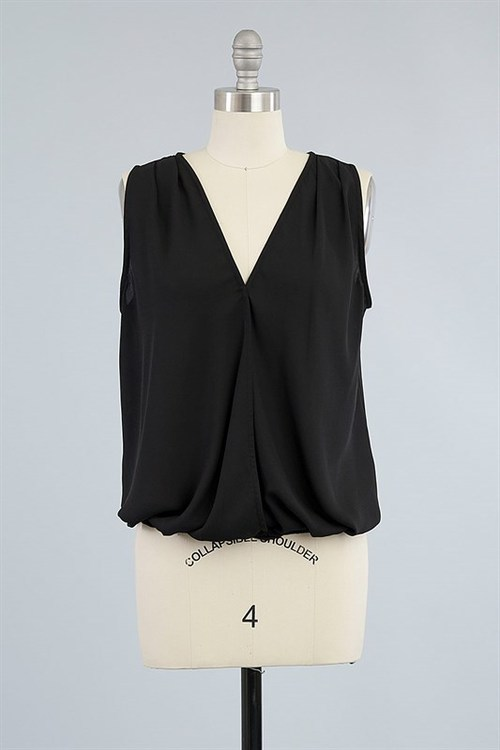 Tulip top (Black)