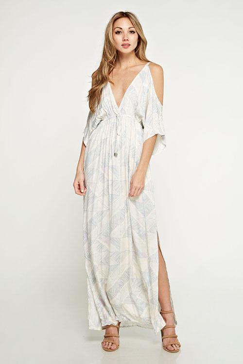Shasta Cold Shoulder Maxi