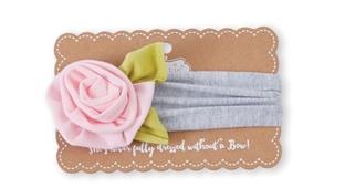 Flower Headband Pink