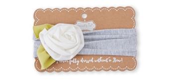 Flower Headband Ivory