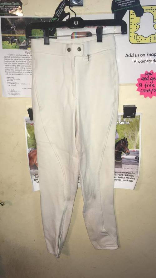 Consignment Harry Hall White Breeches