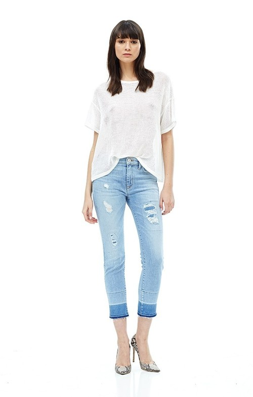 MIDRISE CROP ZOEEY STRAIGHT PANT
