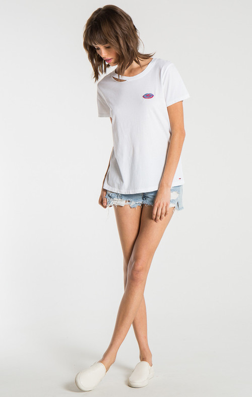 Harlow BFF Tee with Embroidery