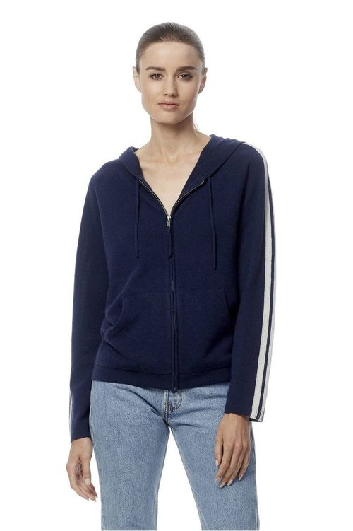 COCO Long Sleeve Cashmere Hoodie