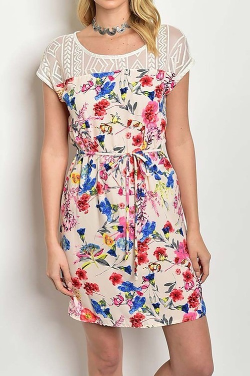 Meadow shift dress