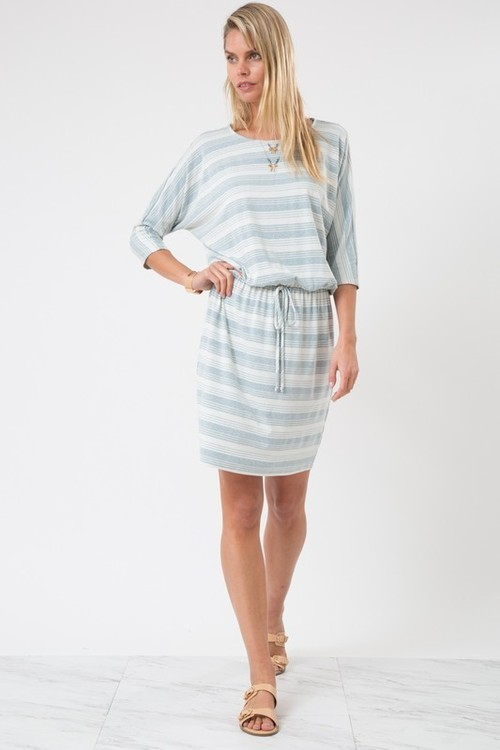 Mindy striped dress (Blue)