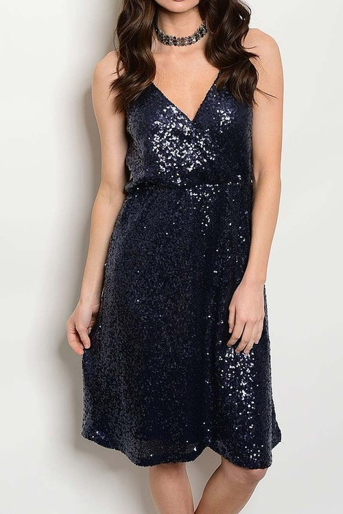 Katherine sequins cocktail dress
