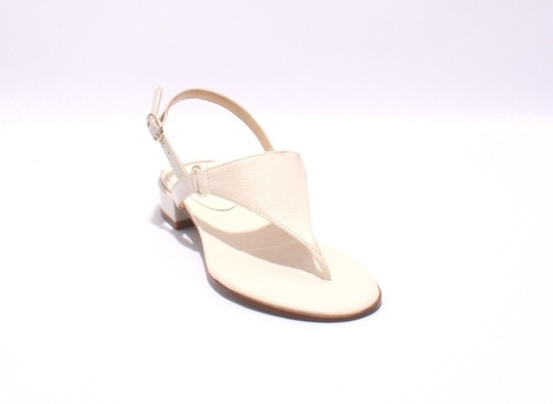 bf8630b53508 Cream Leather   Patent   Thong Strappy Sandals