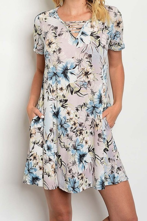 Luau tunic dress