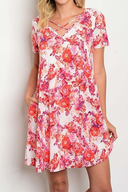 Aloha tunic dress