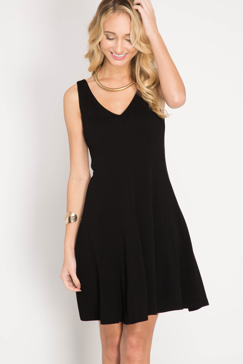 Stephanie cocktail dress (Black)