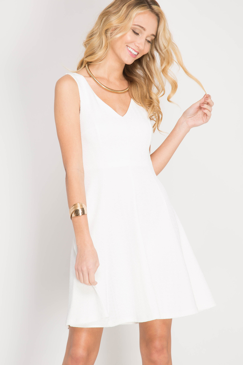 Stephanie cocktail dress (White)