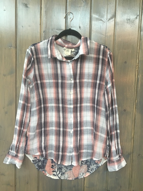Iron Horse Dusty Rose Button Down
