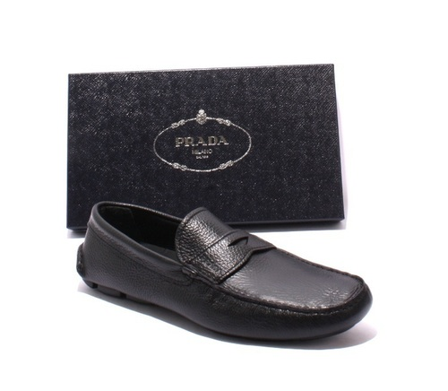 Black Leather Slipper Driver Moccasins Loafers Shoes