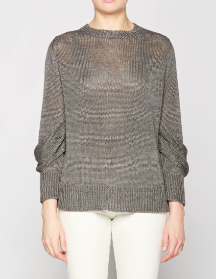 MEAD DRAPED SLEEVE PULLOVER