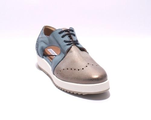 separation shoes d847d 31043 Multi-Color Nubuck / Leather Lace Up Shoes